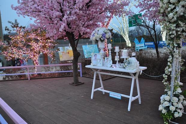 봄의 정원