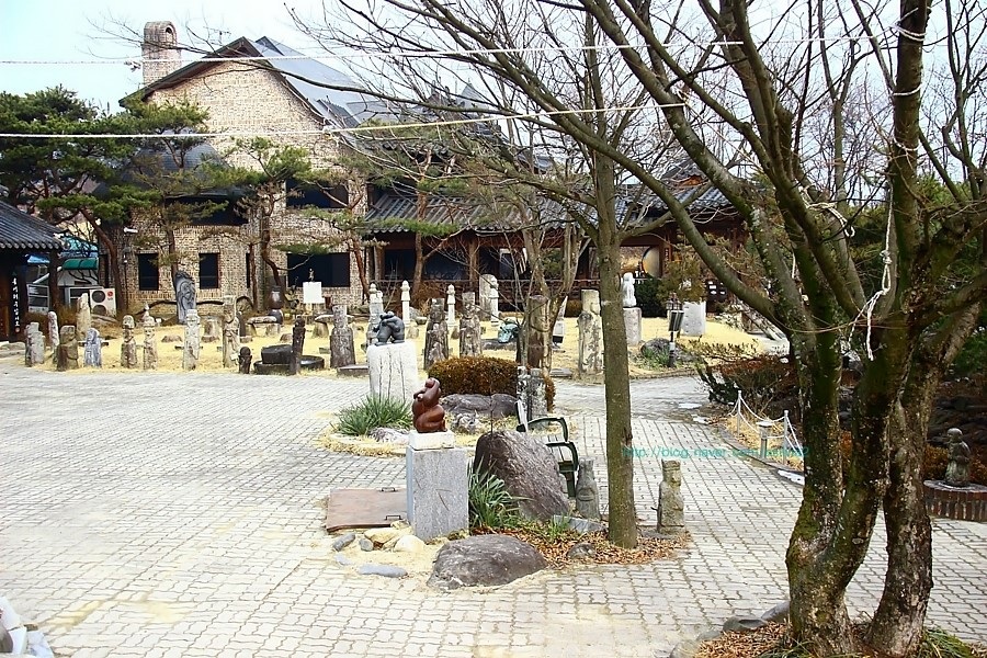 목아카페가 있는 목아박물관