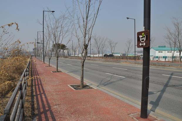 중앙로 평화누리길 구간