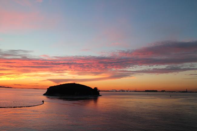 시화호 주변 풍경