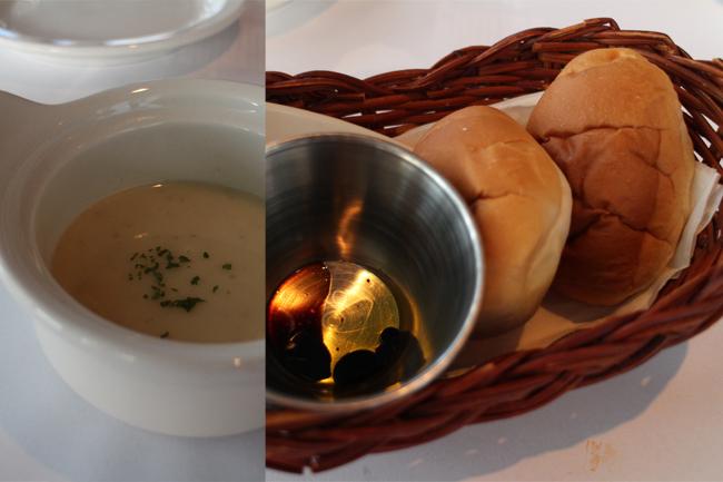 스프와와 식전 빵