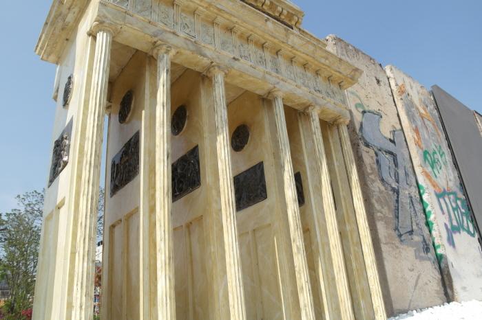 성문 기둥