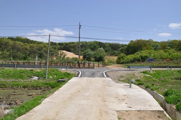 장산리 마을 구간