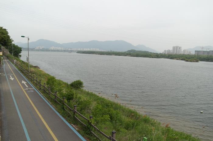 미음나루  한강 자전거길