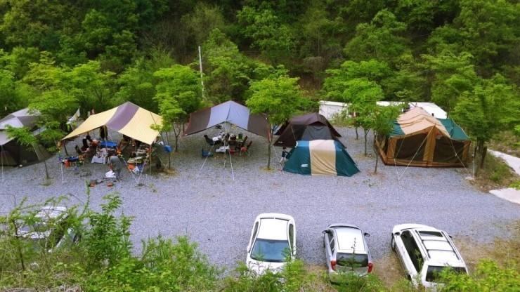 꿈의 마을 캠핑장