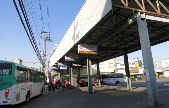 버스정류장
