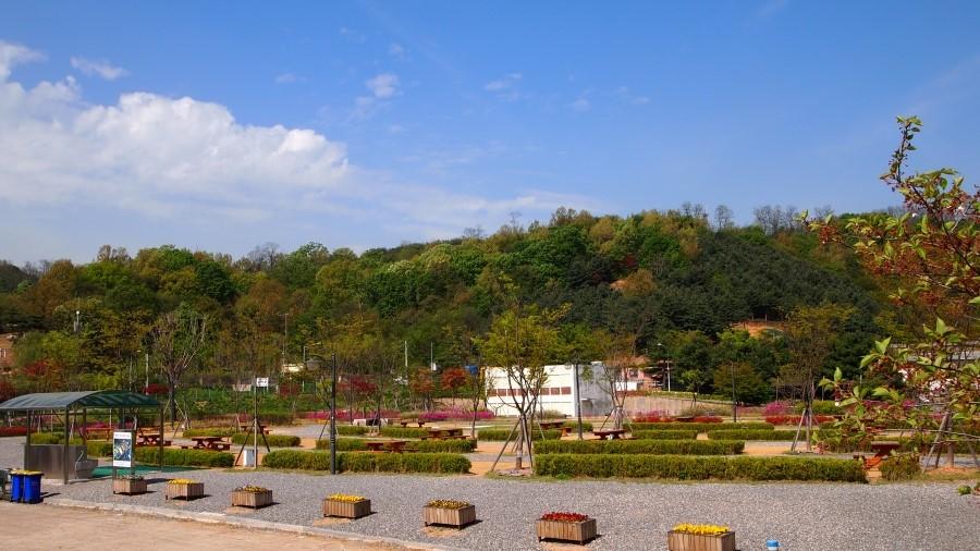 여월농업공원 캠핑장