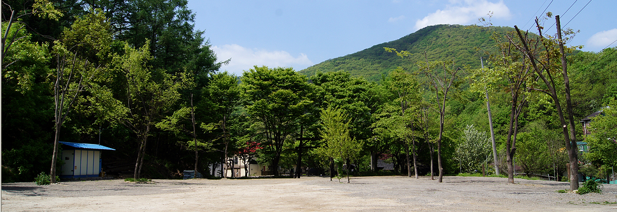 캠핑장 전경