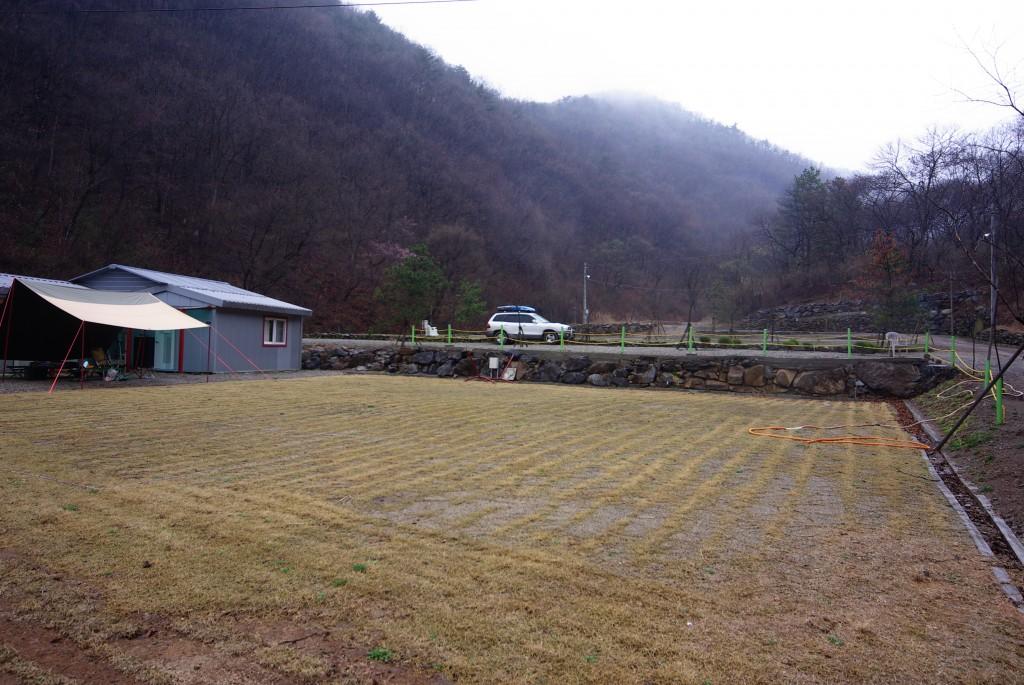 안성 잔디팜 캠핑장