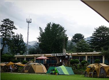 산음숲자연학교캠프장