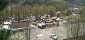 기산캠프장 전경 사진