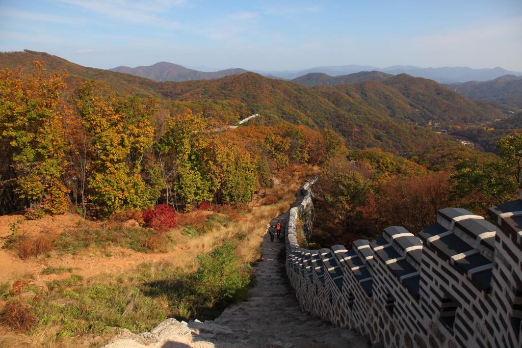 남한산성 4코스 - 남장대터2
