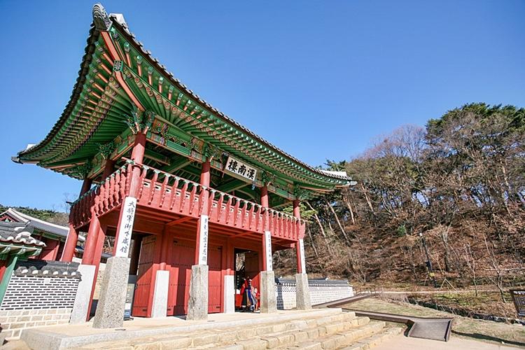 남한산성행궁 한남루
