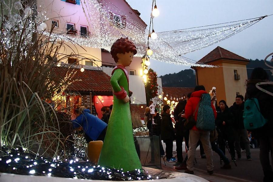 경기도 겨울낭만여행 쁘띠프랑스 어린왕자 별빛축제
