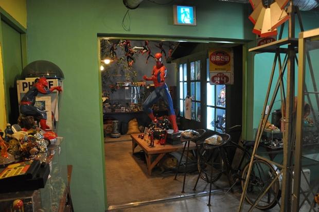 재미있는 추억 박물관 내부