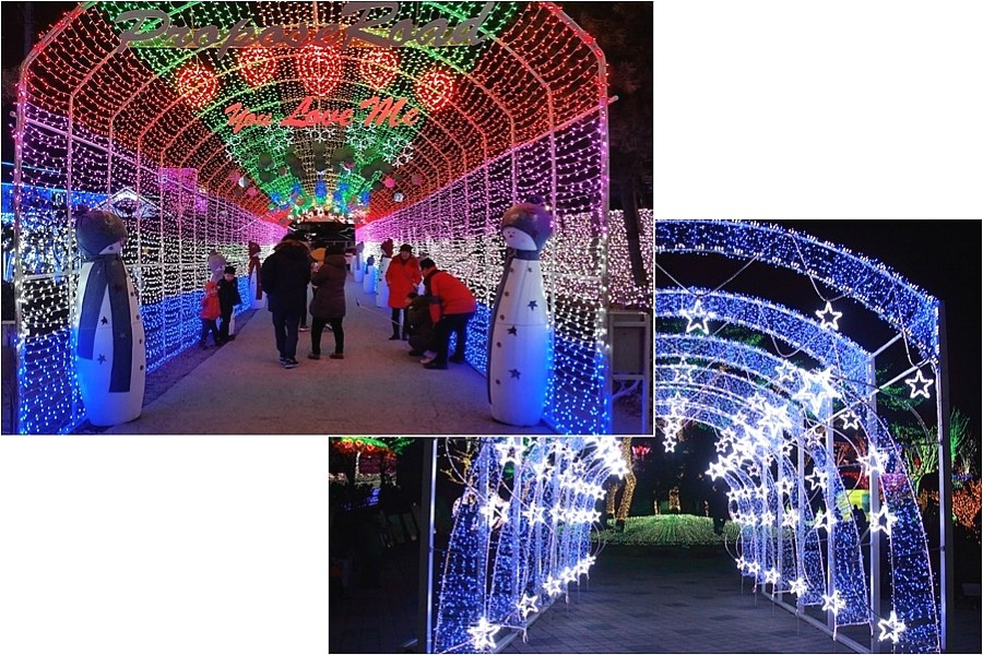 일년 내내 빛축제 열리는 안산 별빛마을 포토랜드