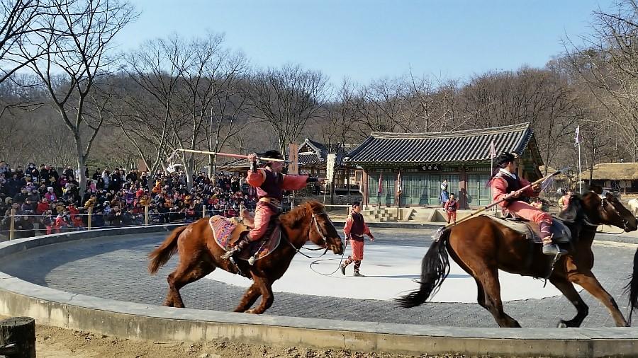 한국민속촌 마상무예