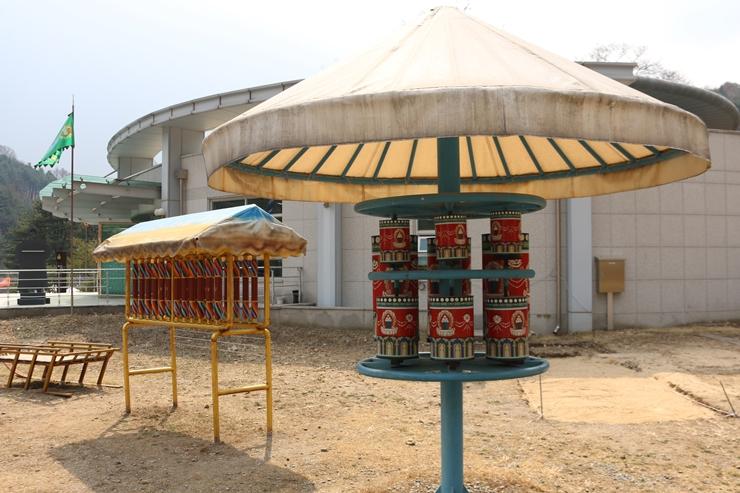 몽골풍의 구조물