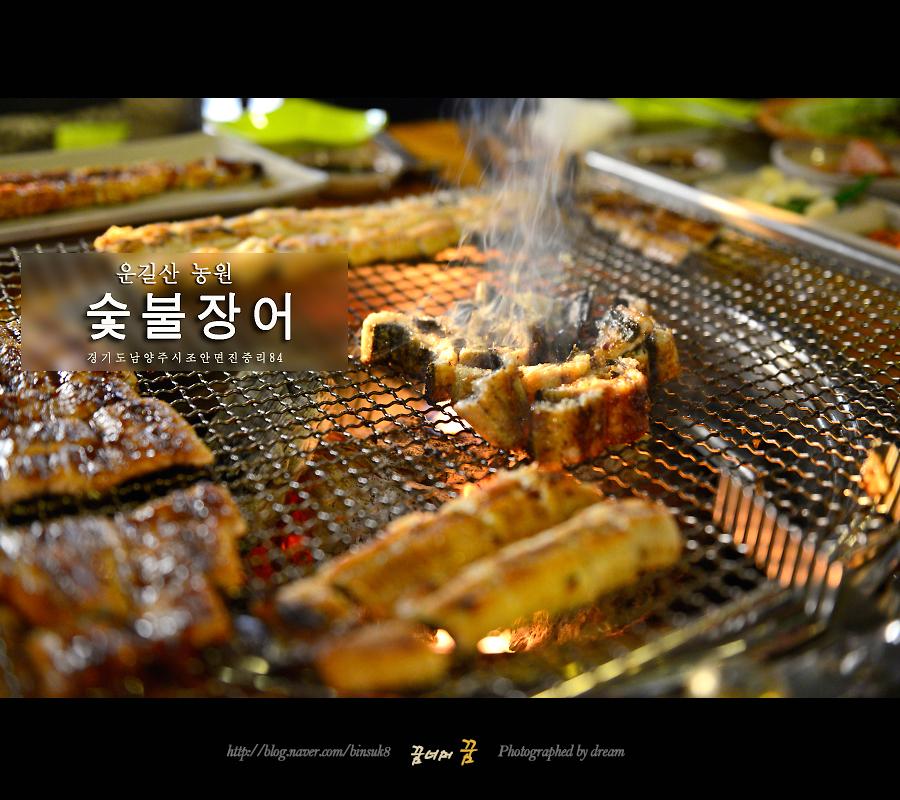 2016.3.25 남양주 운길산 농원 숯불장어