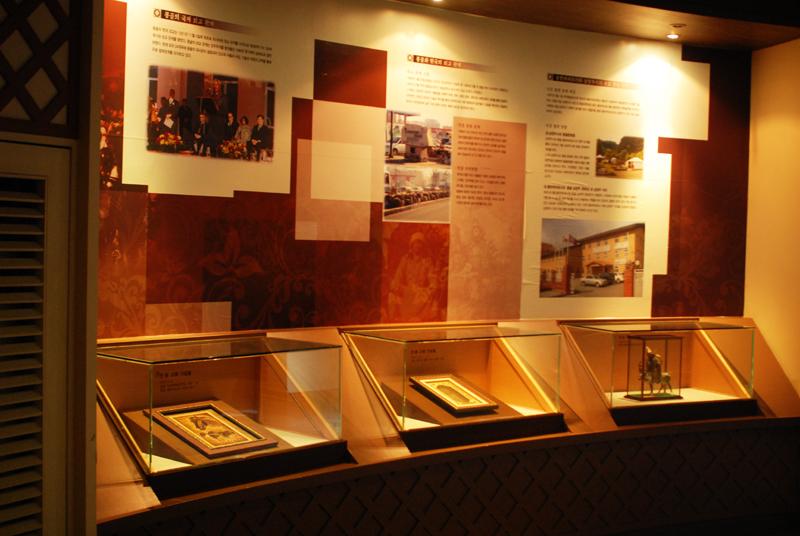몽골 역사 안내 전시실