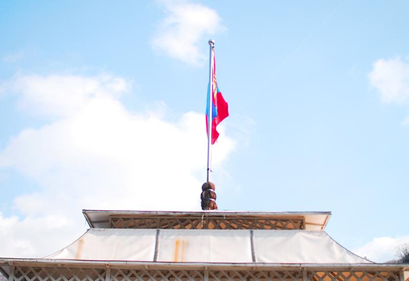 몽골 깃발