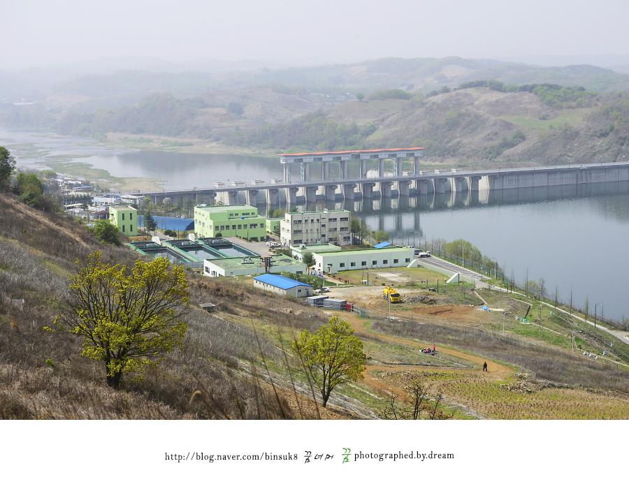 댐의 모습