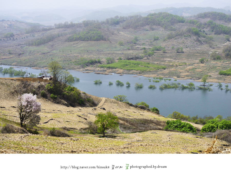 언덕의 모습