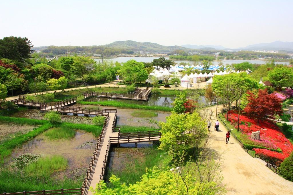 의왕왕송저수지, 군포철쭉동산,시골밥상 109