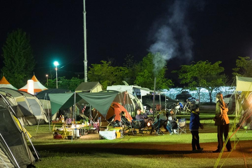 자라섬 캠핑장