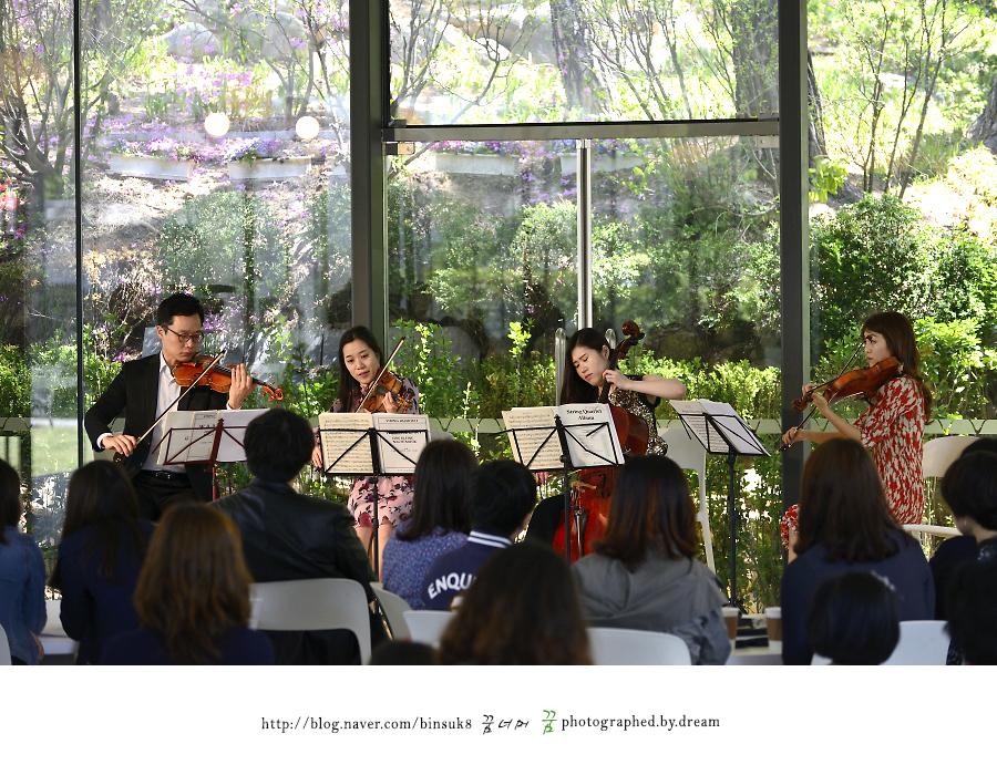 악기를 연주하는 연주자들
