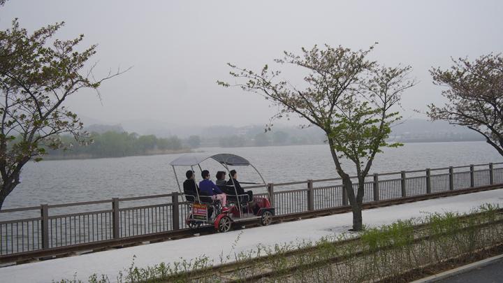 왕송호수 레일바이크