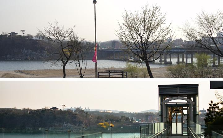 남한강과 여주대교