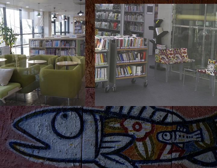도서관 내부