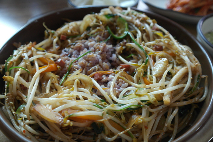 몽골리안덮밥