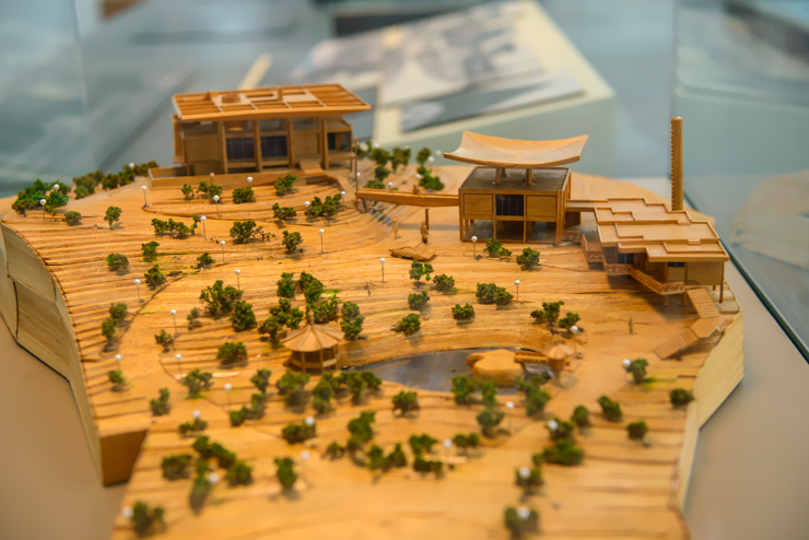 프랑스 대사관 건물 모형도