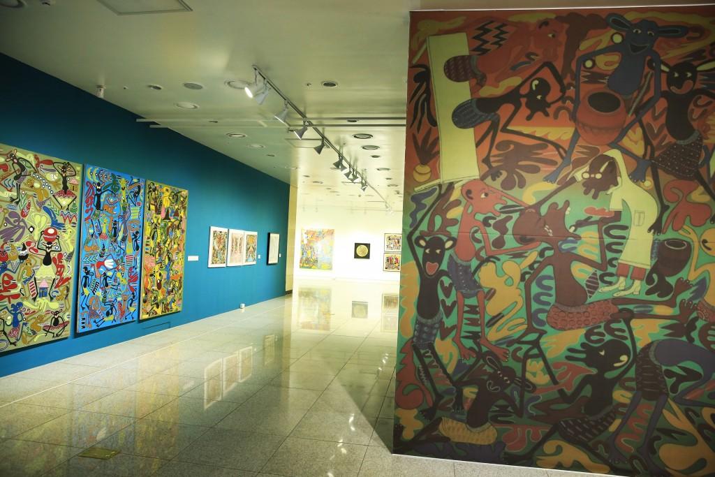 아프리카 미술작품들