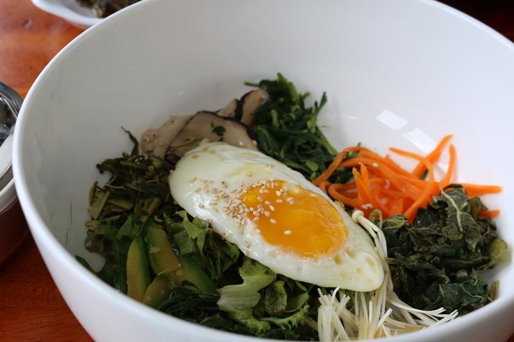 산채 비빔밥