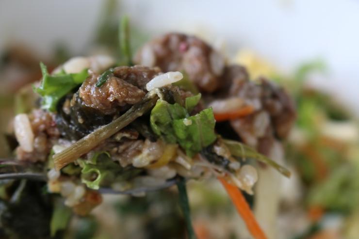 비빔밥 한 숟가락