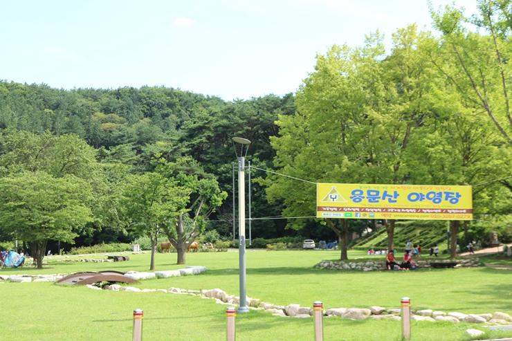 용문산 야영장