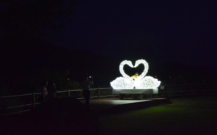 사랑의 연못 주변