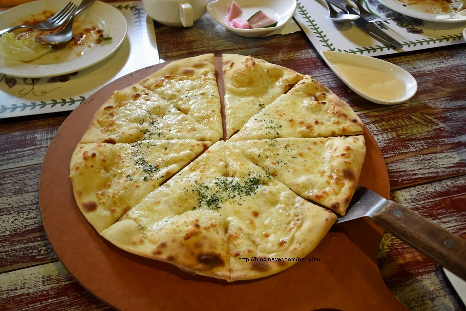 고르곤졸라 피자