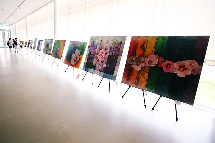 김종희 작가의 무궁화 그림 작품