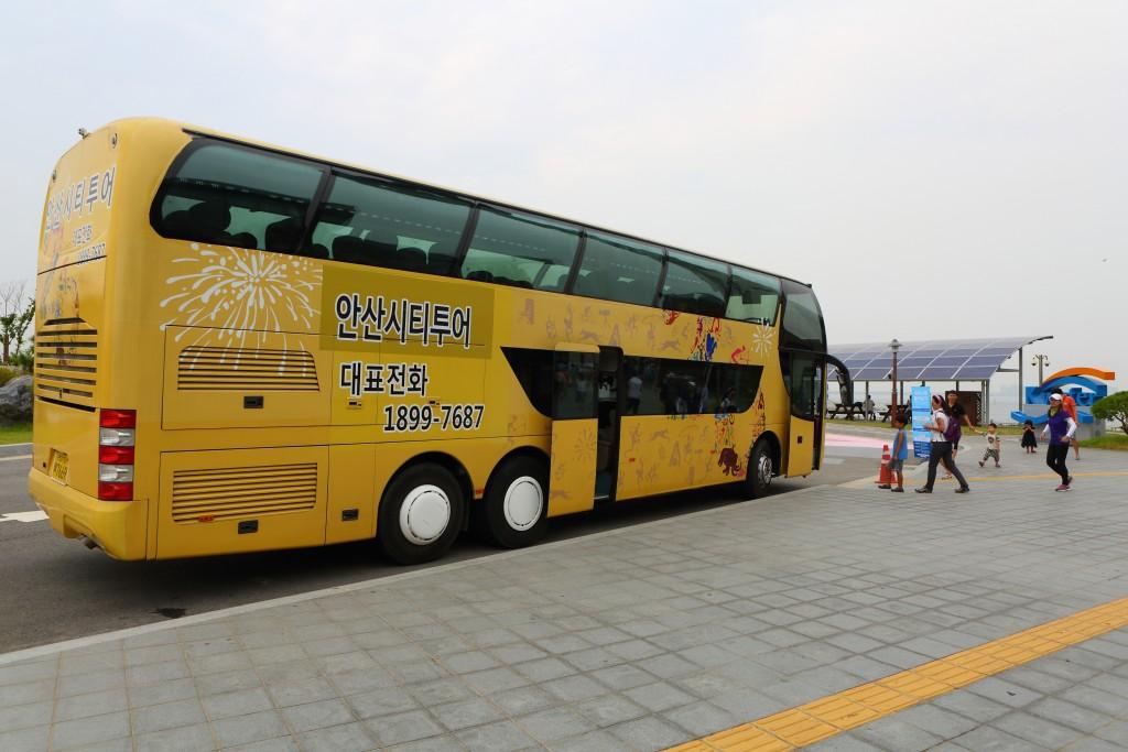 안산시티투어 2층버스
