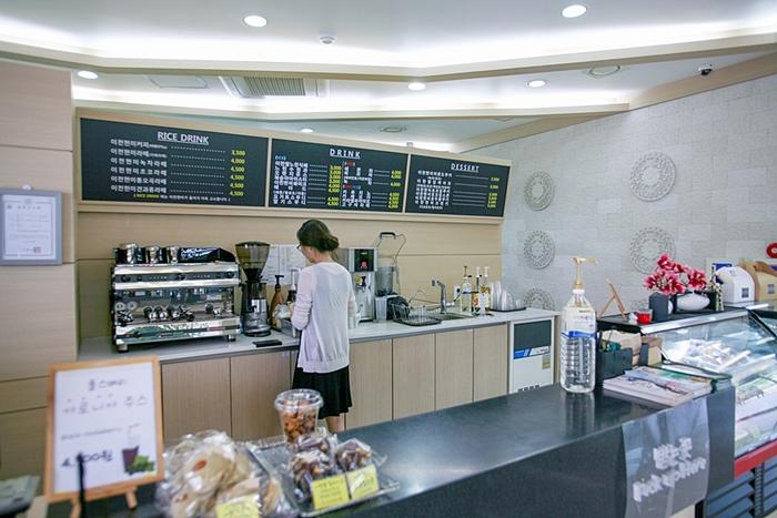 카페 전경