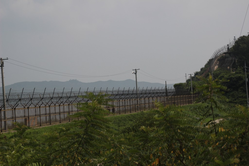 멀리 보이는 DMZ