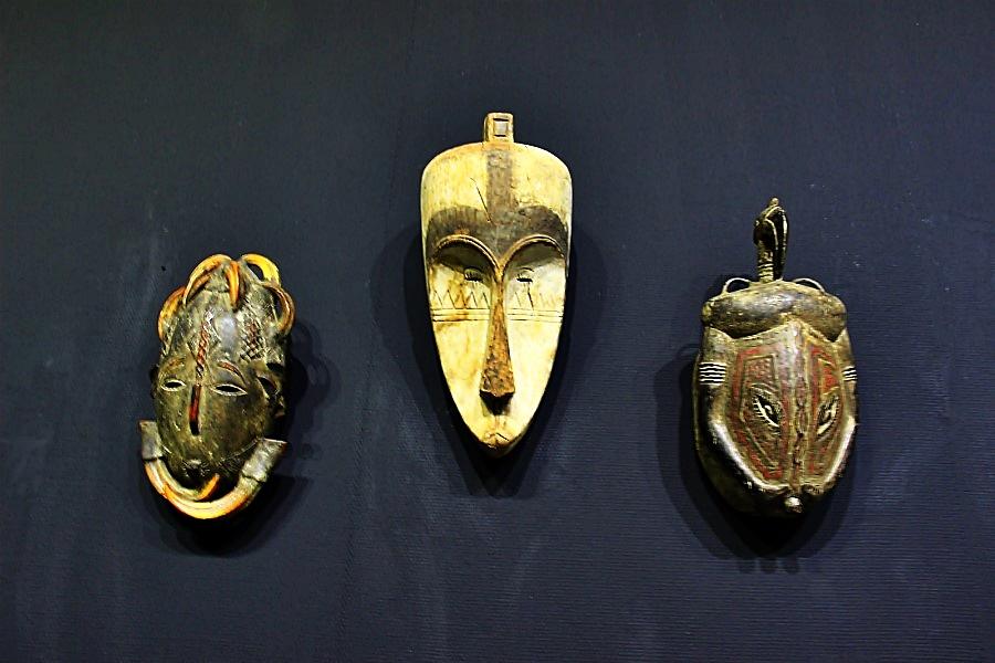 아프리카의 마스크들