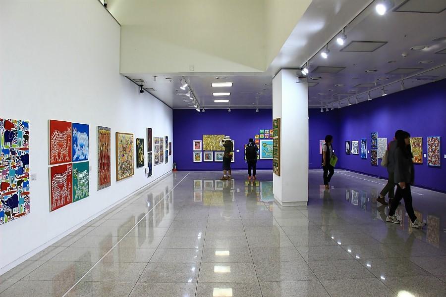 양평군립미술관의 미술로 떠나는 세계여행-아프리카편 전시회