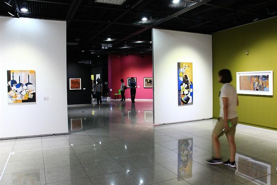 미술관 내부 사진