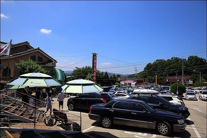 가게 앞 주차장