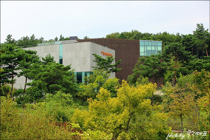 여주 산림 박물관 전경
